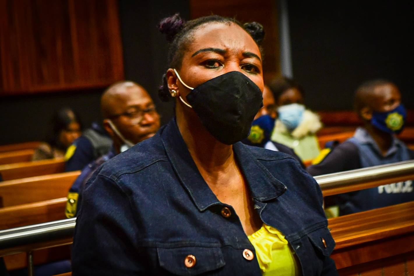 Former police officer Nomia Rosemary Ndlovu  in court on charges of conspiring to kill her relatives