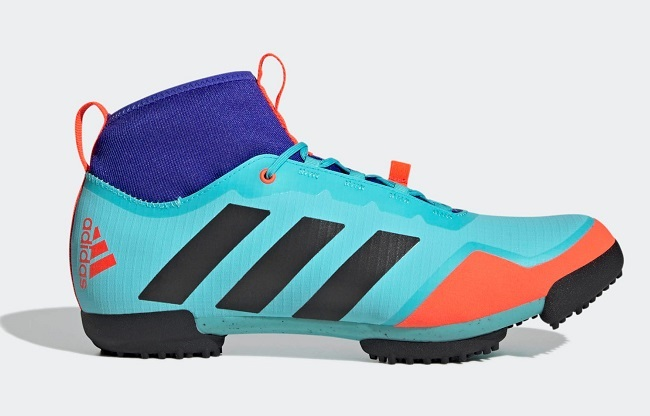 High visibility will make you unmissable, on those district dirt roads (Photo: Adidas)