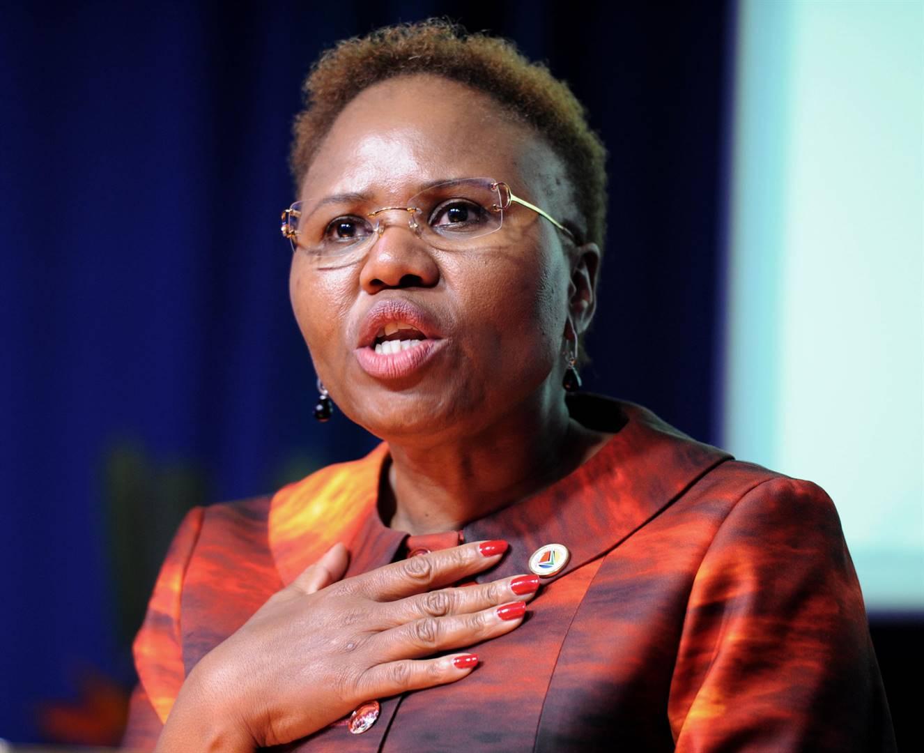 Social Development Minister Lindiwe Zulu. Photo: File