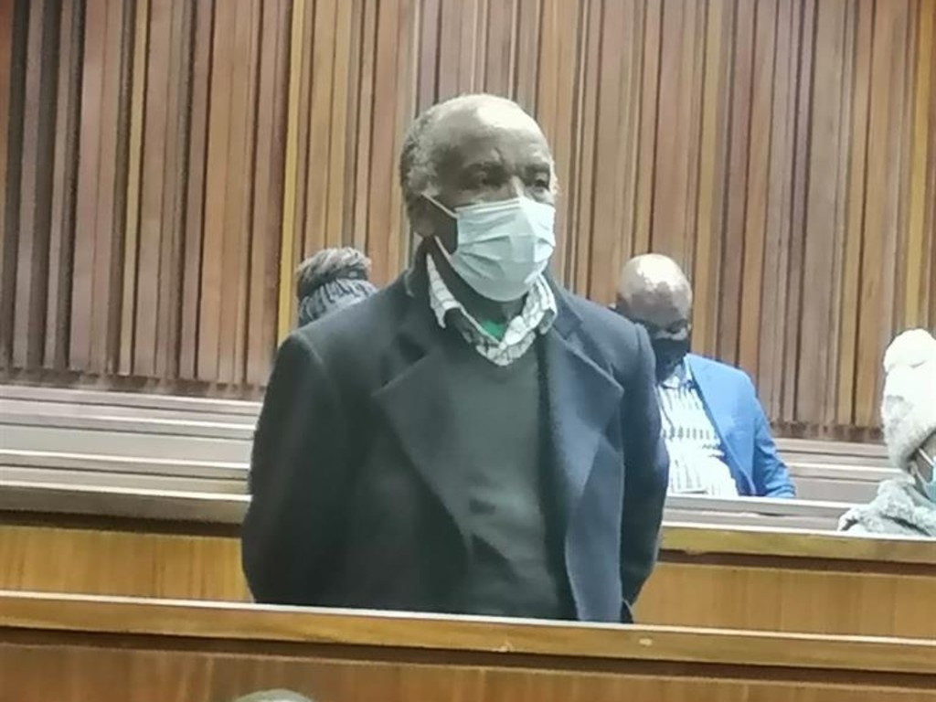 Ephraim Mfalapitsa in previous appearance court for three counts of murder. (Supplied, NPA)