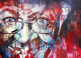 PICS | 'Loathsome': Shock after Desmond Tutu mural in Cape Town defaced with k-word