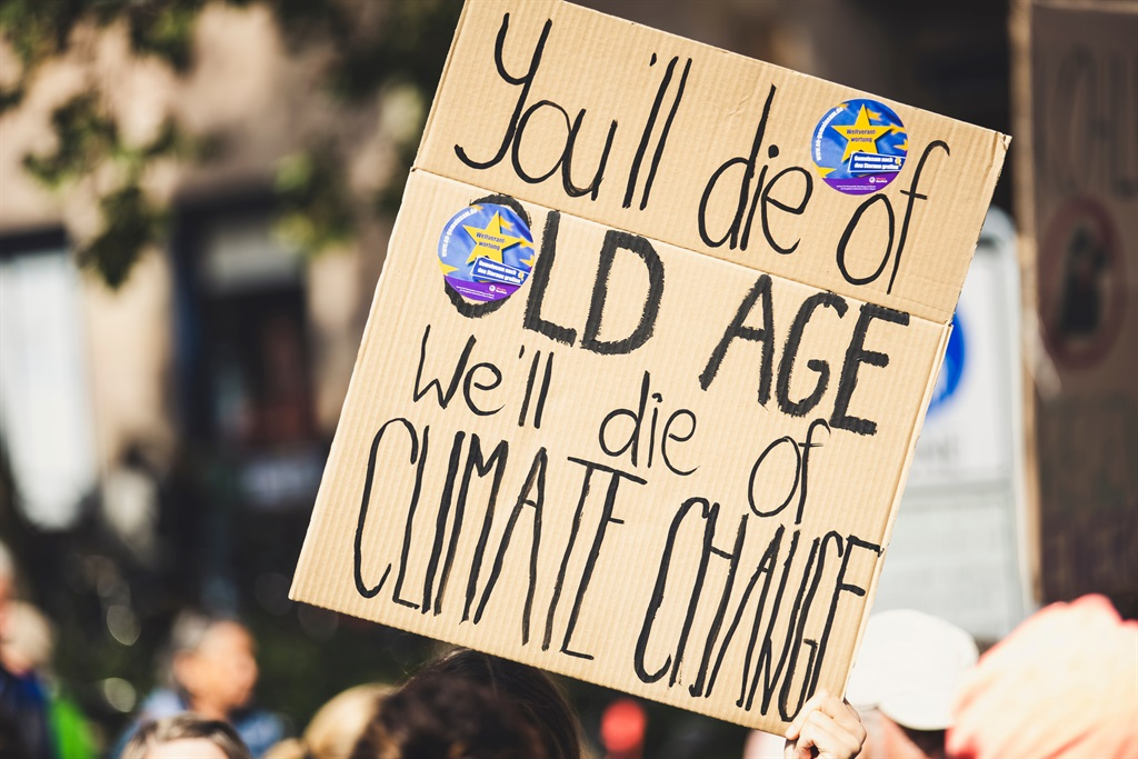 'Young people in South Africa are among those most at risk of the impacts of climate change, threatening their health, education and protection...'