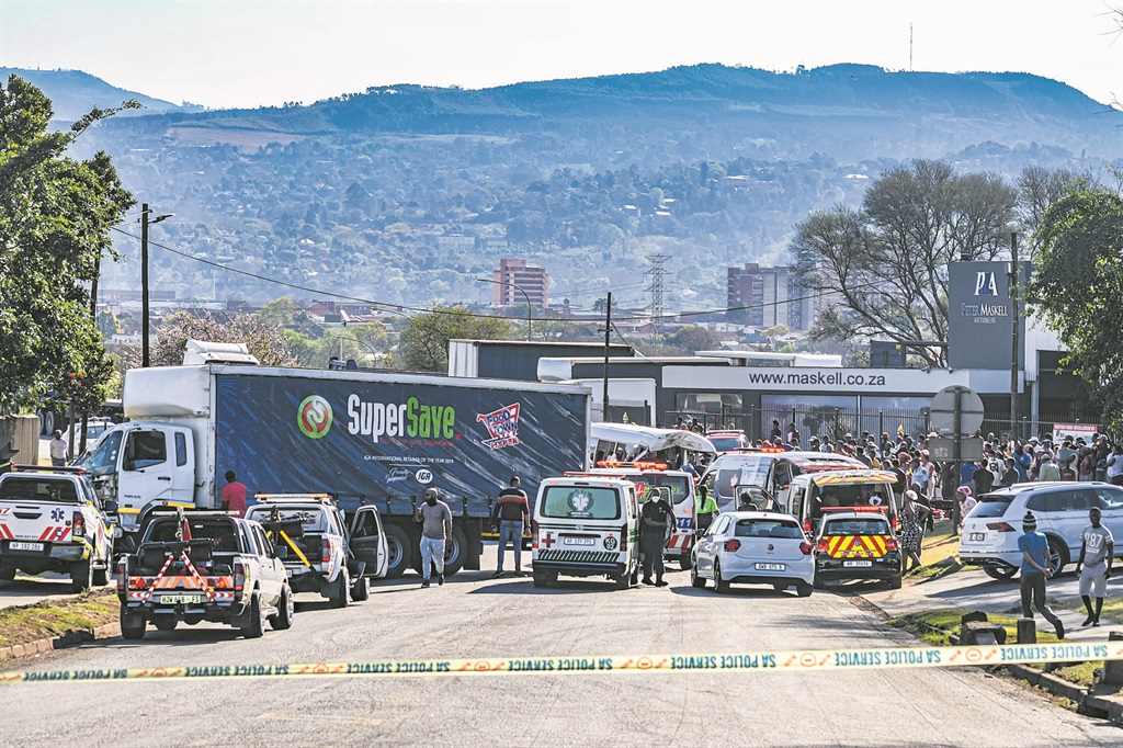 The horrific accident on Ohrtmann Road on Monday afternoon that claimed the lives on two school children.