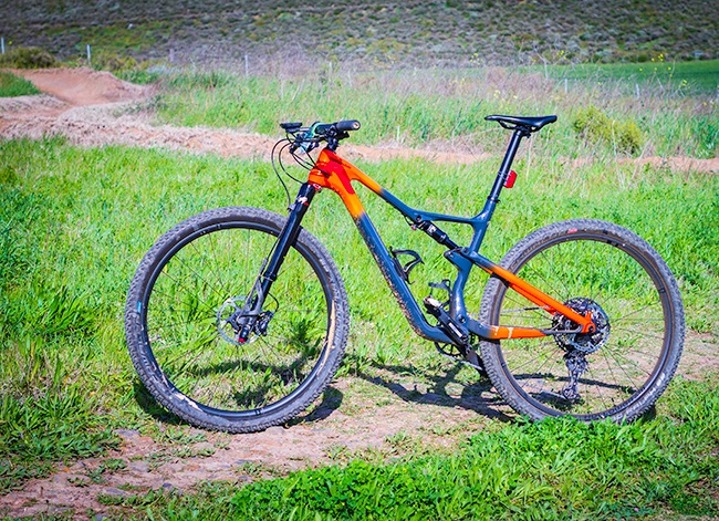 With its single-sided fork, the Scalpel has a very distinctive look (Photo: R24)