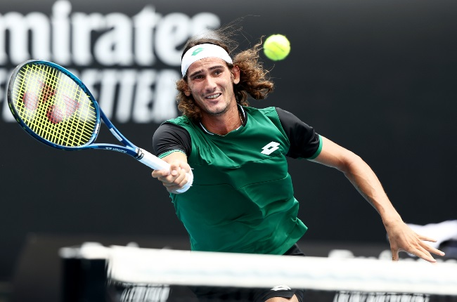 Lloyd Harris is South Africa's top-ranked tennis player. (Getty Images)