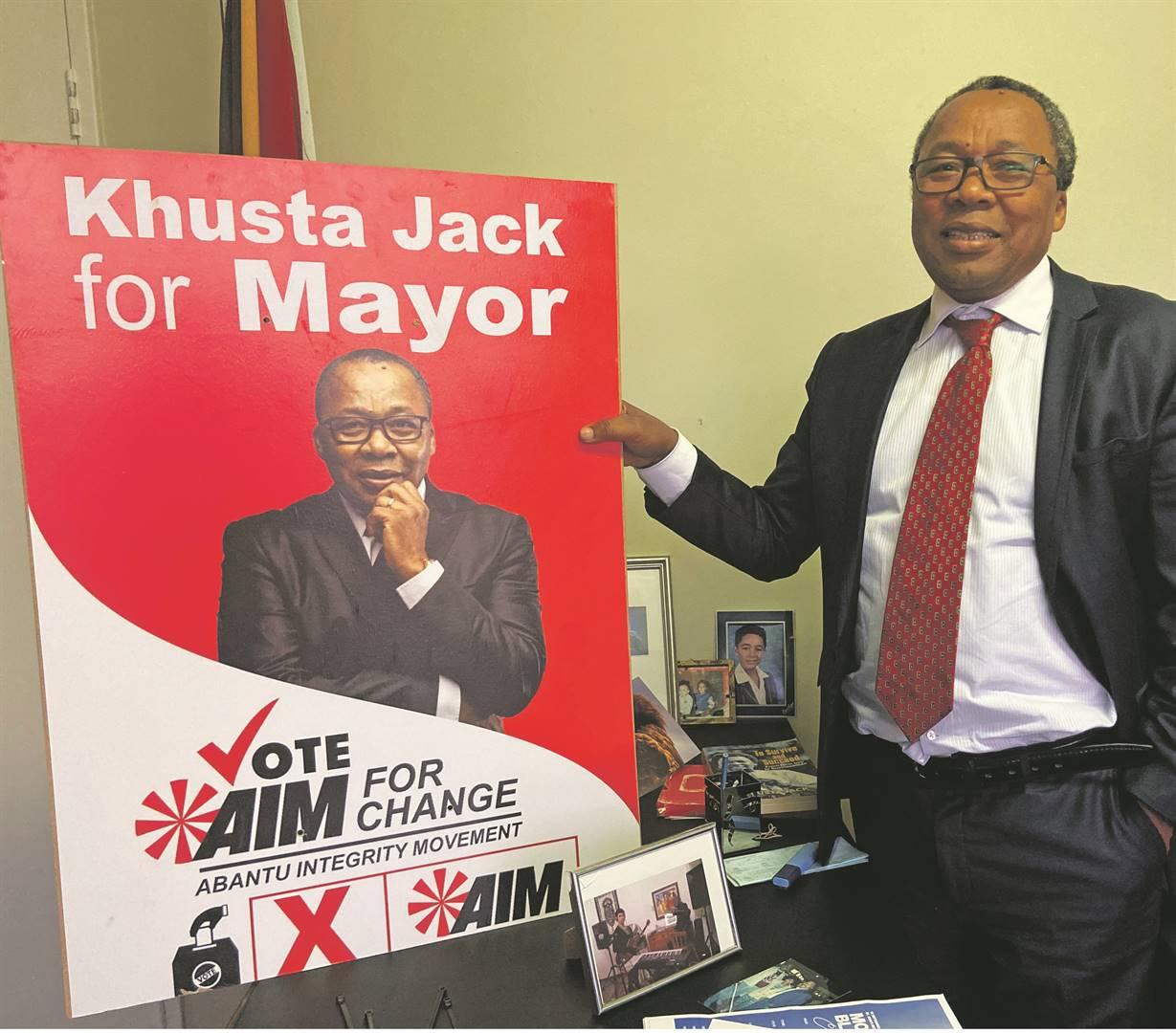 Mkhuseli Jack believes he is the right person to lead Nelson Mandela Bay, following years of instability. Photo: Bongekile Macupe