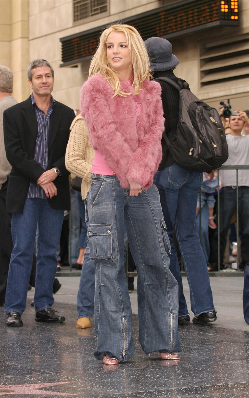 Britney Spears during The Hollywood Walk Of Fame H