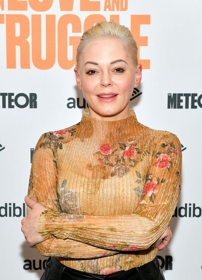 Actress and activist Rose McGowan has launched a s