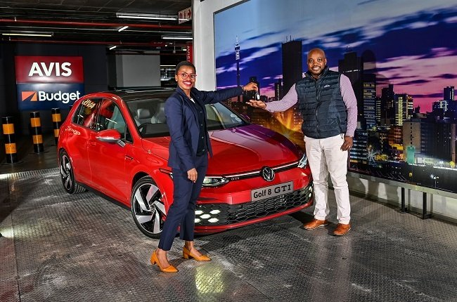 AVIS takes delivery of the first Golf 8 GTI in Sou