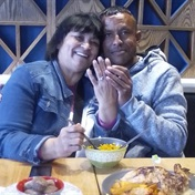 Smitten Cape Town couple with 21-year age gap is melting hearts with surprise proposal at Nandos