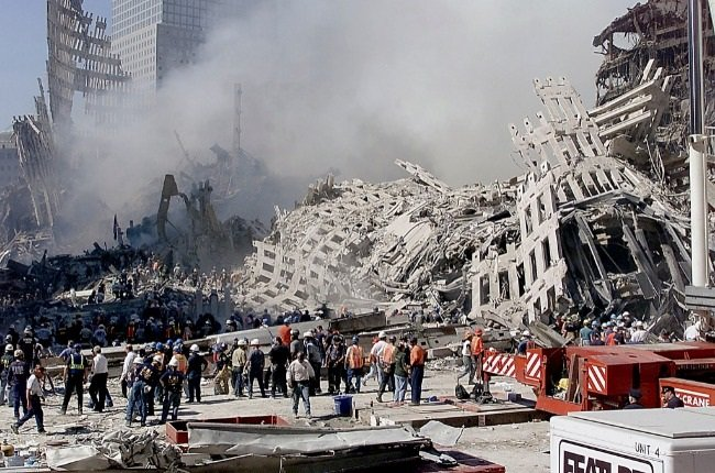 Tuesday 11 September 2001 is a day the world will never forget. More than 2 600 people died in the terror attack that brought down the Twin Towers of New York's World Trade Center. (PHOTO: Gallo Images/Getty Images)