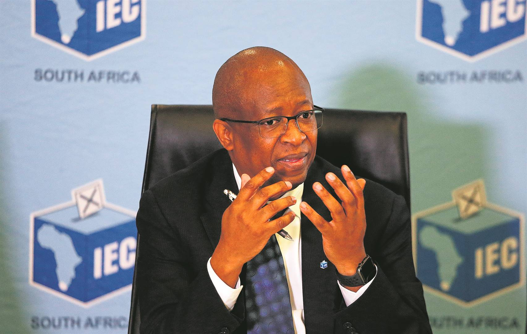 IEC CEO Sy Mamabolo said the decision was based on legal advice.Photo byGallo Images/Phill Magakoe