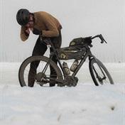 The Ceder gravel bike snow show