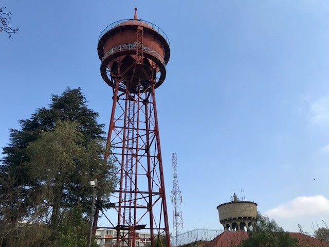 The Yeoville water tower in Johannesburg. Ageing infrastructure and demand outstripping supply are blamed for Johannesburg's recent water woes. Photo: Masego Mafata