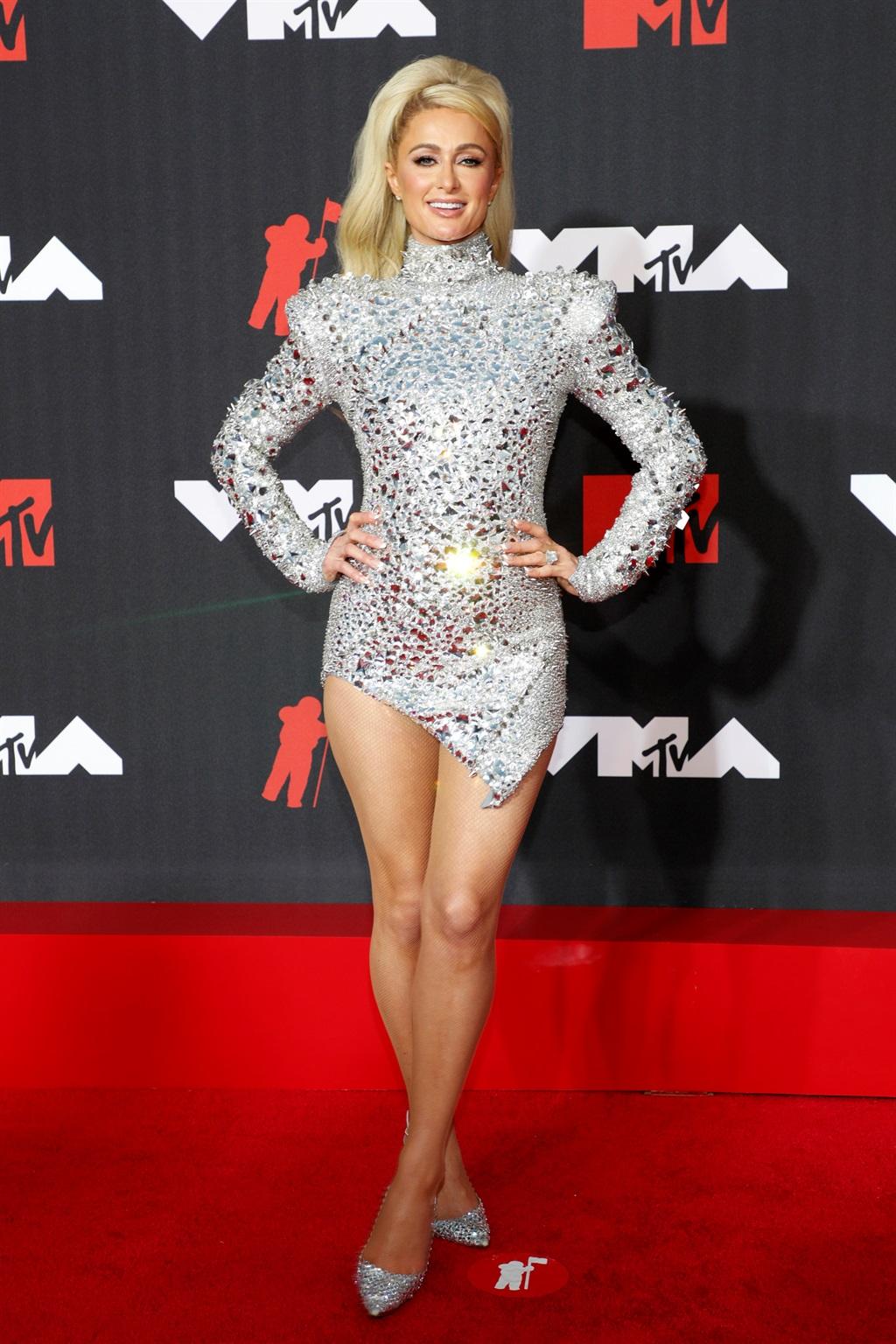 NEW YORK, NEW YORK - SEPTEMBER 12: Paris Hilton at