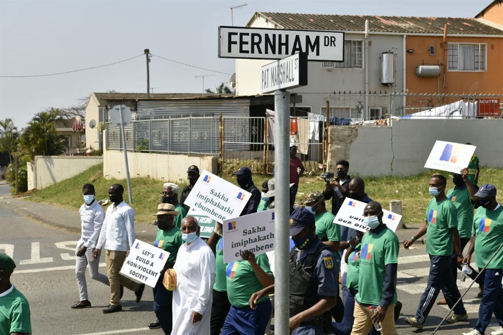 The peace walk is aimed at uniting citizens while