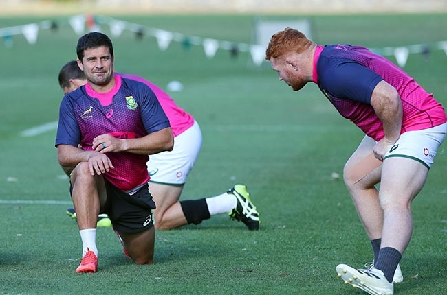 Morne Steyn hasn't been enlisted to be a specialist back-up kicker. (Photo by Tertius Pickard/Gallo Images)