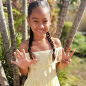 This 8-year-old Durban girl is going viral for her incredible freehand paintings