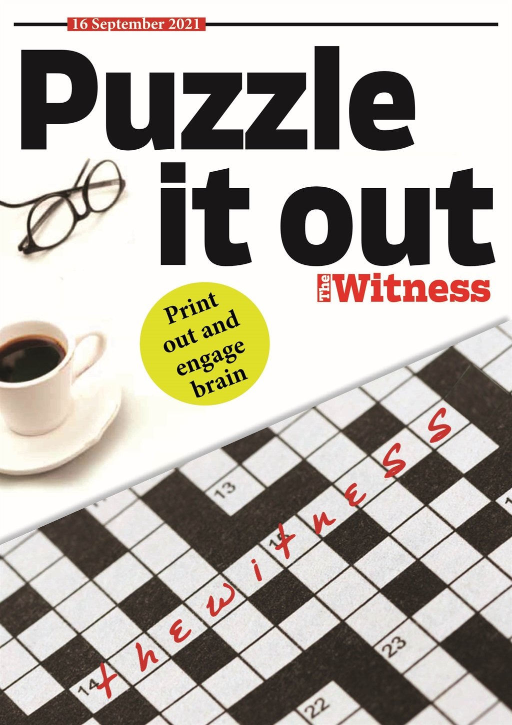 Puzzles, September 16, 2021.