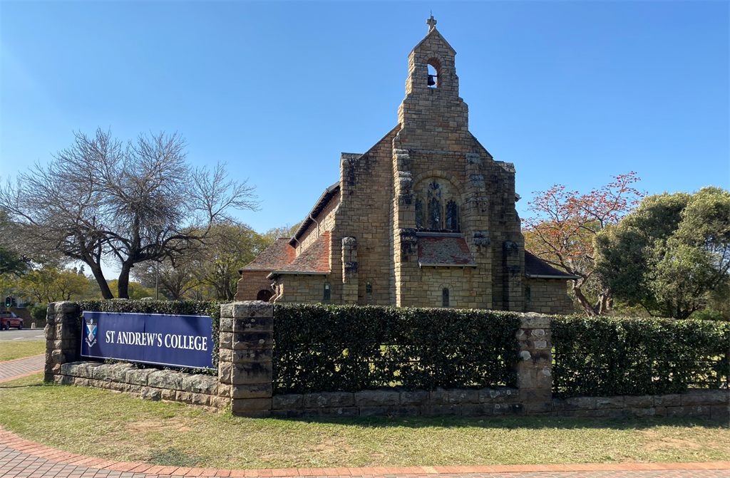 The headmaster at St Andrew's College says they are unaware of any predatory behaviour by a staff member, which could have caused Thomas Kruger's death. (Picture: Nokuthula Manyathi/News24)
