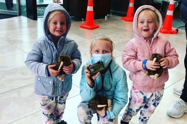 Lauren Dickason was taken into custody in connection with the murders of her daughters, Liane (6) and two-year-old twins Maya and Karla. (PHOTO: Facebook)