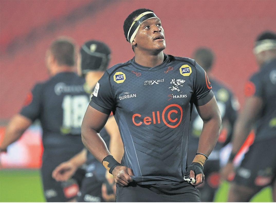 Sharks captain Phendulani 'Phepsi' Buthelezi.