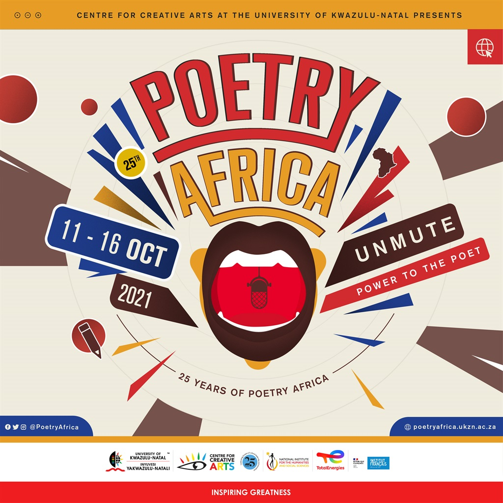 Poetry Africa offers a stage to well-established and upcoming poets. (Supplied)