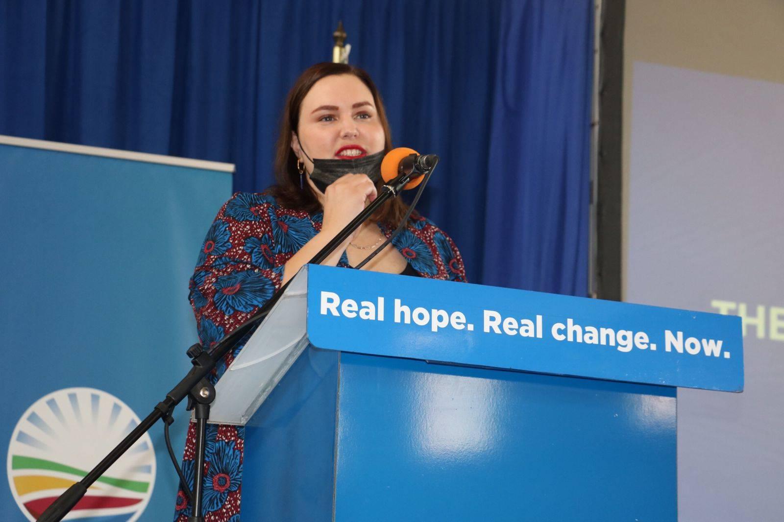 Nicole Graham, DA eThekwini caucus leader.PHOTO: Supplied