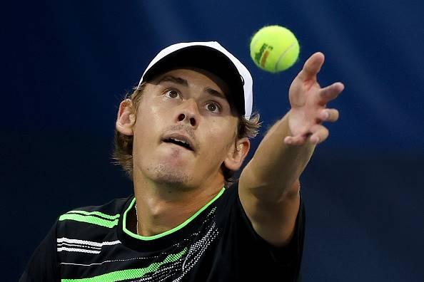 Die Australiese ster Alex de Minaur.  Foto: Getty Images