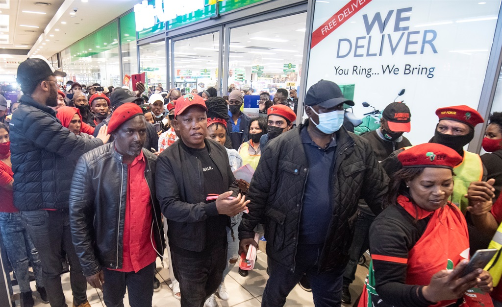 SEE   Elections 2021: EFF leader Julius Malema drums up support in Cape Town - News24