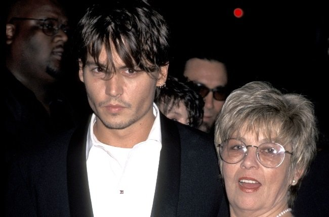 Johnny Depp had a troubling relationship with his mother Betty Sue Palmer, who died of cancer in 2016. (PHOTO: Gallo Images / Getty Images)