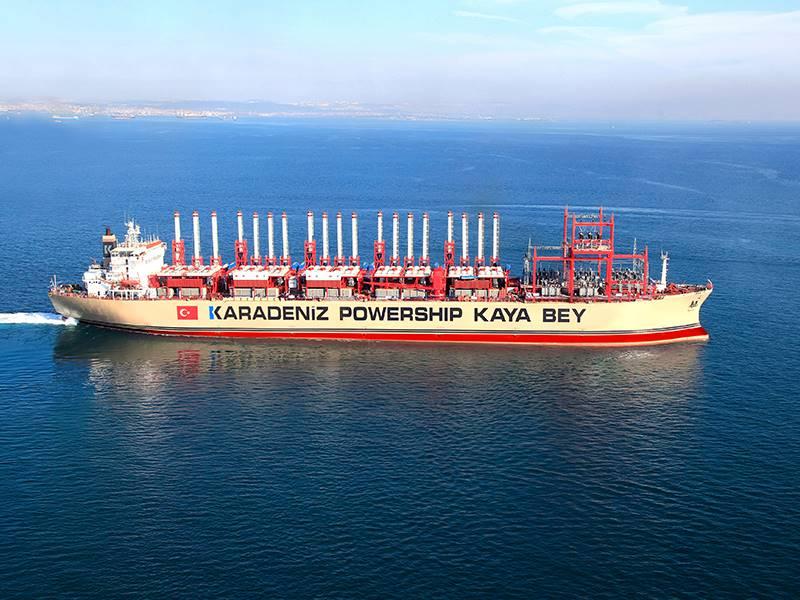 Die Nasionale Energiereguleerder (Nersa) blyk voorkeur te gegee het aan die Turkse maatskappy Karpowership. Foto: Karpowership