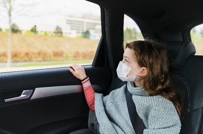 Car sickness can turn a family trip into a nightmare, with mom and dad nervously looking over their shoulders and fearing the worst.  (Photo: Getty Images/Gallo Images)