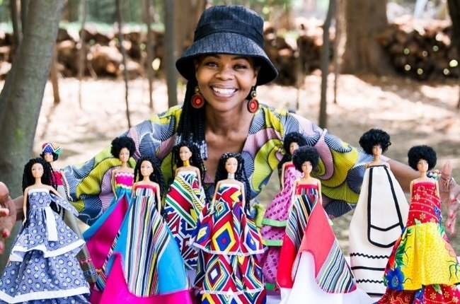 Mmule Ramothibe is on a mission to make a difference one doll at a time using South Africa's rich heritage. (Photo: Instagram/Nandikwa dolls)