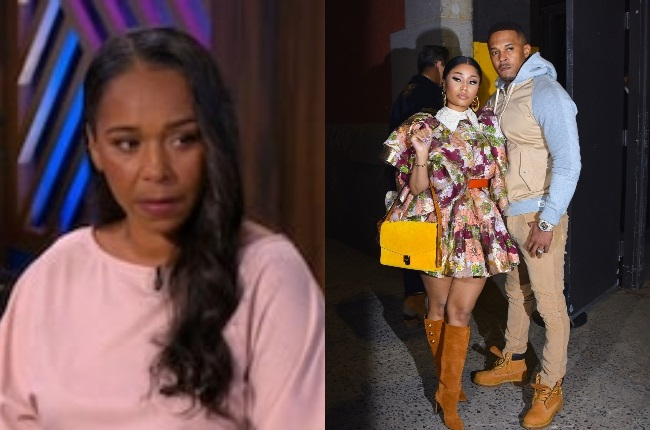 Jennifer Hough broke her silence on the allegations she made against Nicki Minaj and her husband, Kenneth Petty. (PHOTO: Gallo Images/ Getty Images/ The Real)