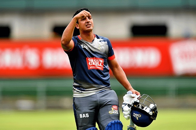 Zubayr Hamza scored his maiden century in the T20 format for Western Province on Friday.