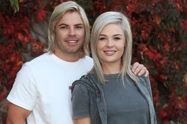 After calling it quits for a few months, Springbok scrum half Faf de Klerk and his girlfriend, Miné van Niekerk, are a couple again. (PHOTO: Pine Pienaar)