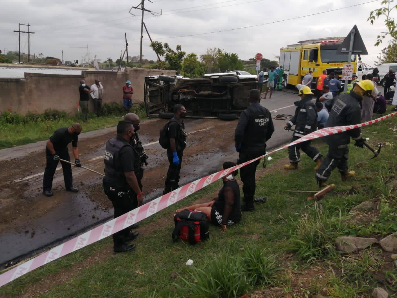 The scene of the crash.PHOTO: RUSA