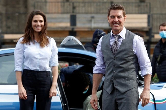 Tom Cruise and Hayley Atwell have reportedly split as filming on their upcoming project, the seventh Mission: Impossible instalment, nears completion. (PHOTO: Gallo Images / Getty Images)