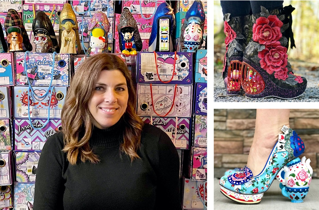 Kari Walbert is a self-confessed shoe addict and she has collected over 500 pairs of world's quirkiest shoes worth more than R600 000. Kari Walbert / Caters News/ Magazine Features