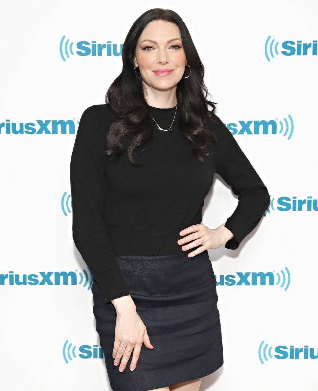 Laura Prepon left the church five years ago. She says motherhood changed her outlook on some decisions she made.