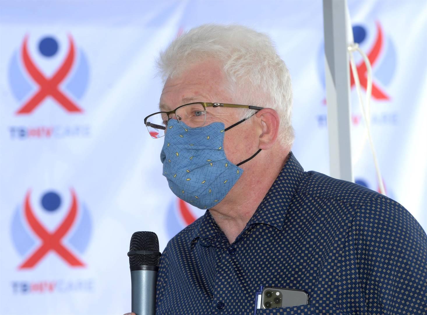 Alan Winde, Wes-Kaapse premier. Foto: Peter Abrahams