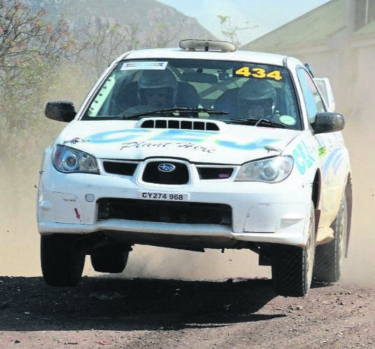 Somerset West rally driver Llewellyn Jones and his navigator Christophé Pichon again outclassed the rest of the field to finish on top of the podium at the Freightmore Express Riebeek Valley Rally this past weekend.Foto: