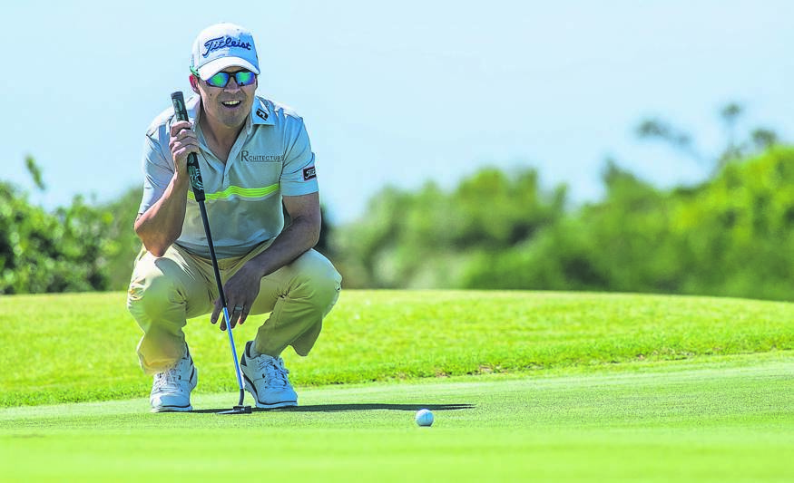 """Professional golfer Christiaan Basson (level par 72, pictured) ended in joint third place in the first round of the Vodacom Origins of Golf Series at Humewood Golf Club in Gqeberha at the weekend. The Metropolitan Golf Club member came in one stroke behind the overall winner, Darren Greene, who secured a playoff win over second-placed Tristen Strydom. In 2019-'20 the 39-year-old Basson, who was born in Strand, enjoyed his best finish on the Sunshine Tour order of merit since 2011, finishing inside the top-20, before the Covid-19 pandemic hit. He hasn't quite been able to recapture the same consistency in the last two seasons, finishing 38th in 2020-'21 and was ranked 43rd in this year's standings at the start of last week's tournament. But Basson is determined to achieve success and get back into contention to try and claim his fifth Sunshine Tour title. """"I'm positive about my game, it's trending in the right direction, but I'm also keen to make one or two tournaments really count now,"""" he said.Photo: Tyrone Winfield/Sunshine Tour/Gallo Images"""
