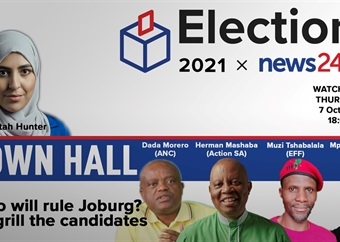 WATCH   News24 town hall: Who will rule Johannesburg? We grill the candidates