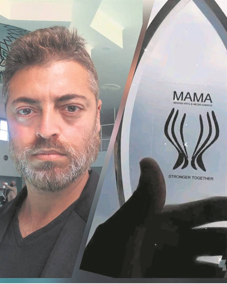 Resident artist at The Athenaeum in Nelson Mandela Bay, Farook Mohammed, won the category of best events organiser at The Mzansi Arts and Media Awards.     Photo:SUPPLIED