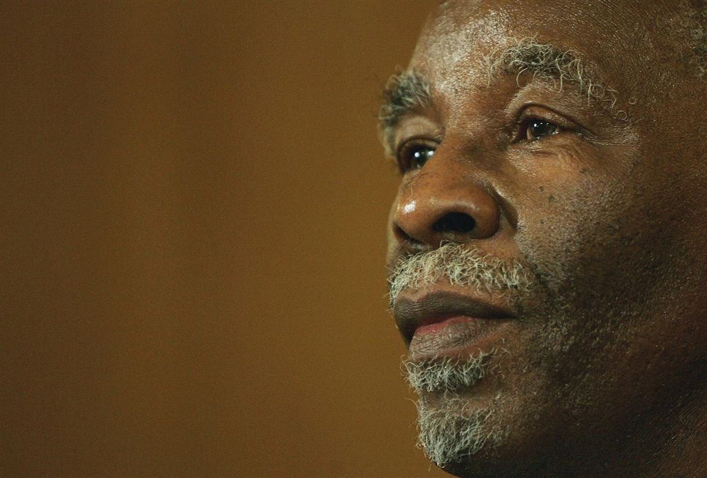 In The Poisoners, Imraan Coovadia recounts how Thabo Mbeki led a struggle against the use of antiretrovirals and in favour of various alternative cures. (Photo by Scott Barbour/Getty Images)