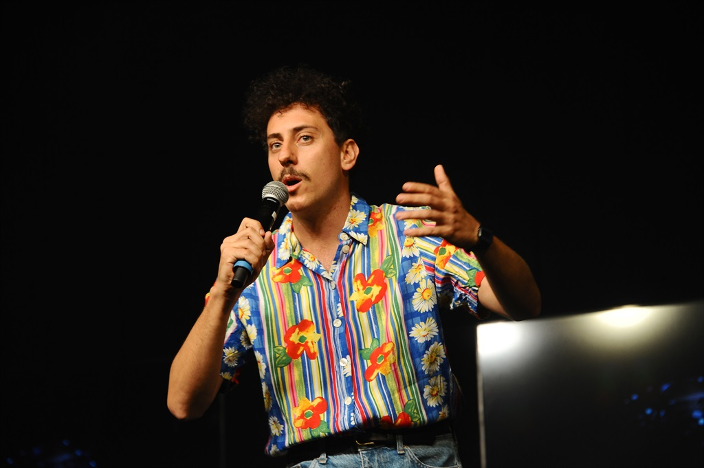 The Woordfees programme features the like of Schalk Bezuidenhout. (Photo by Gallo Images/Oupa Bopape)