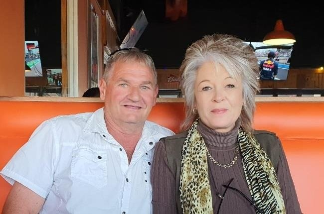 'Modimolle Monster' survivor Ina Bonnette had finally found love again in the arms of Riaan Grobler, but he died on 13 September after contracting Covid-19. (PHOTO: Supplied)
