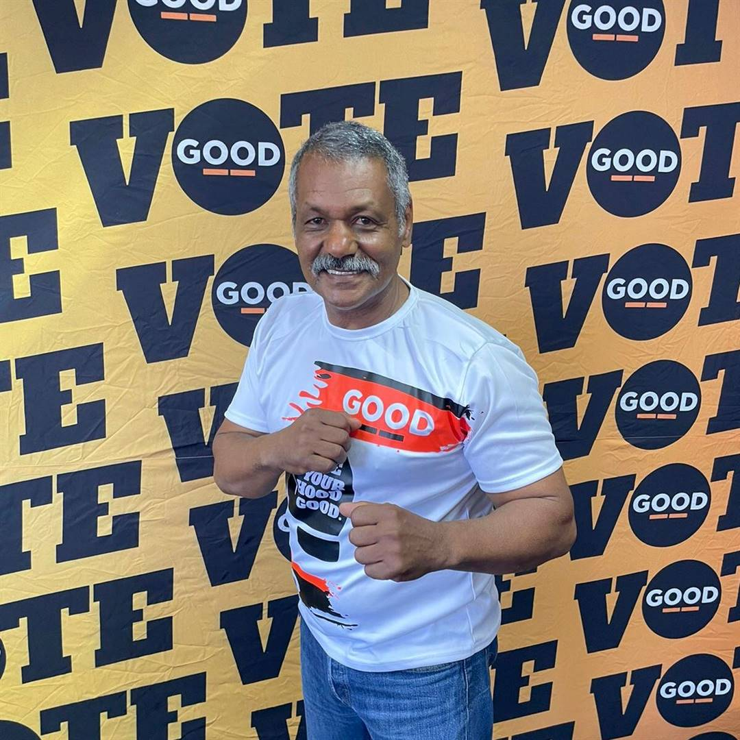 GOOD Party Drakenstein Municipality mayoral candidate Peter de Villiers